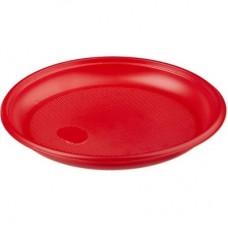 Тарелка ПС красная d=170мм
