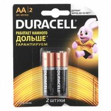 Батарейки Duracell LR6 АА 2шт/уп