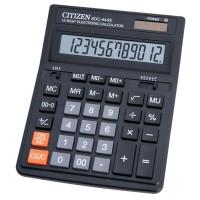 Калькулятор Citizen SDC-444S 12-разрядный черный