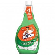 """Средство для мытья стекол """"Мистер Мускул"""" сменный блок 500мл"""