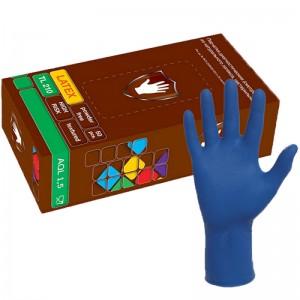 """Перчатки латексные неопудренные High Risk """"Safe & Care"""" р-р L,100шт/уп"""