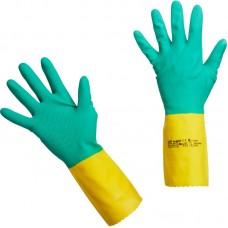 Перчатки Vileda резиновые усиленные L
