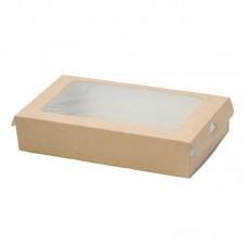 Упаковка с прозрачным окном 1000мл 200х120х40мм