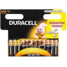 Батарейки Duracell Basic LR03-12BL ААА 12шт/уп