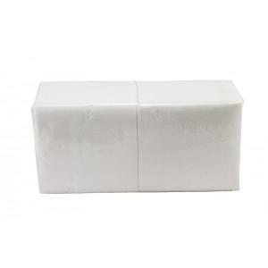 Салфетки 33х33см однослойные белые 300 шт/уп