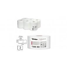 Туалетная бумага 2сл. 170м белая Veiro Professional Premium T305