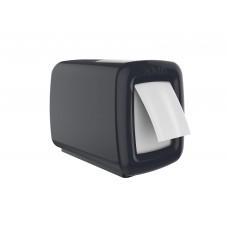 Диспенсер черный/белый Focus с боковой подачей для салфеток