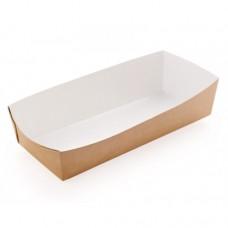 Лоток бумажный для хот-дога ECO 230х130х40мм