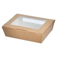 Упаковка 1000мл с прозрачным окном 190х150х50мм