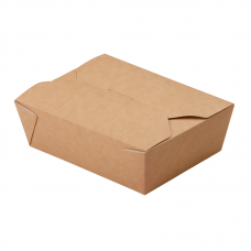 Бумажный контейнер ECO FOLD BOX600 110x90x65мм
