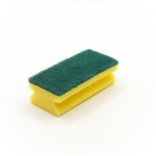 Губка Vileda зеленый абразив 7х15см
