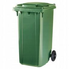 Контейнер пластиковый на колесах для мусора 240л