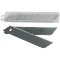 Запасные лезвия для канцелярских ножей 18мм 10шт/уп