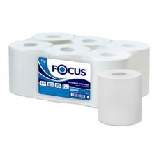 Полотенца бумажные белые в рулоне 150м. Focus Extra Quick 2сл.
