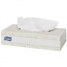 Салфетки белые ультрамягкие 2 сл. Tork Premium 100л/уп
