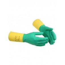 Перчатки резиновые Vileda усиленные L