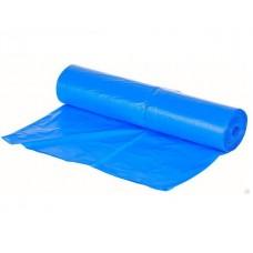 Мешки для мусора в рулоне 60 мкм 180л ПВД синие 25 шт/рул
