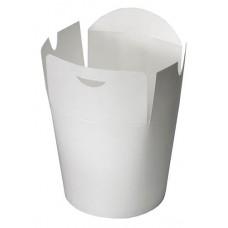 Упаковка под лапшу белая ламин. 450 мл