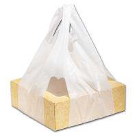 Пакет-майка для коробок под пиццу от 30х30см до 38х38см