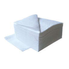 Салфетки 24х24см 1-сл. 100л в ПЭ упаковке
