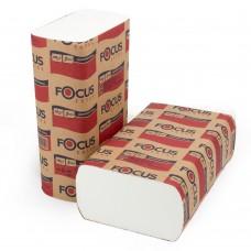 Полотенце бумажное Z-сложения 1сл. Focus Extra 250л/уп